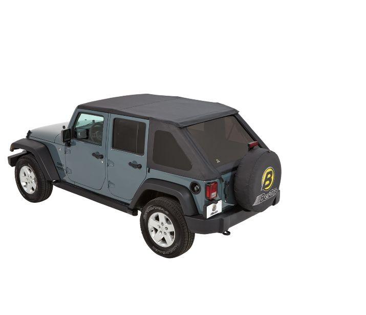 Bestop Trektop NX Complete Soft For Jeep Wrangler TJ/JK Models #56823 35