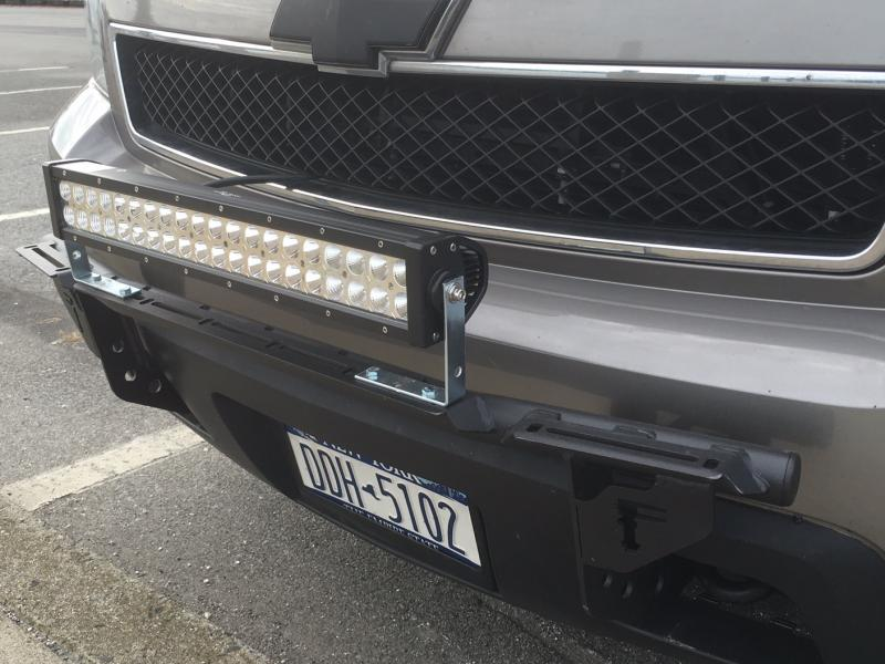 Details About N Fab Inc Light Bar With Multi Mount For 06 13 Chevy Tahoe Suburban Avalanche