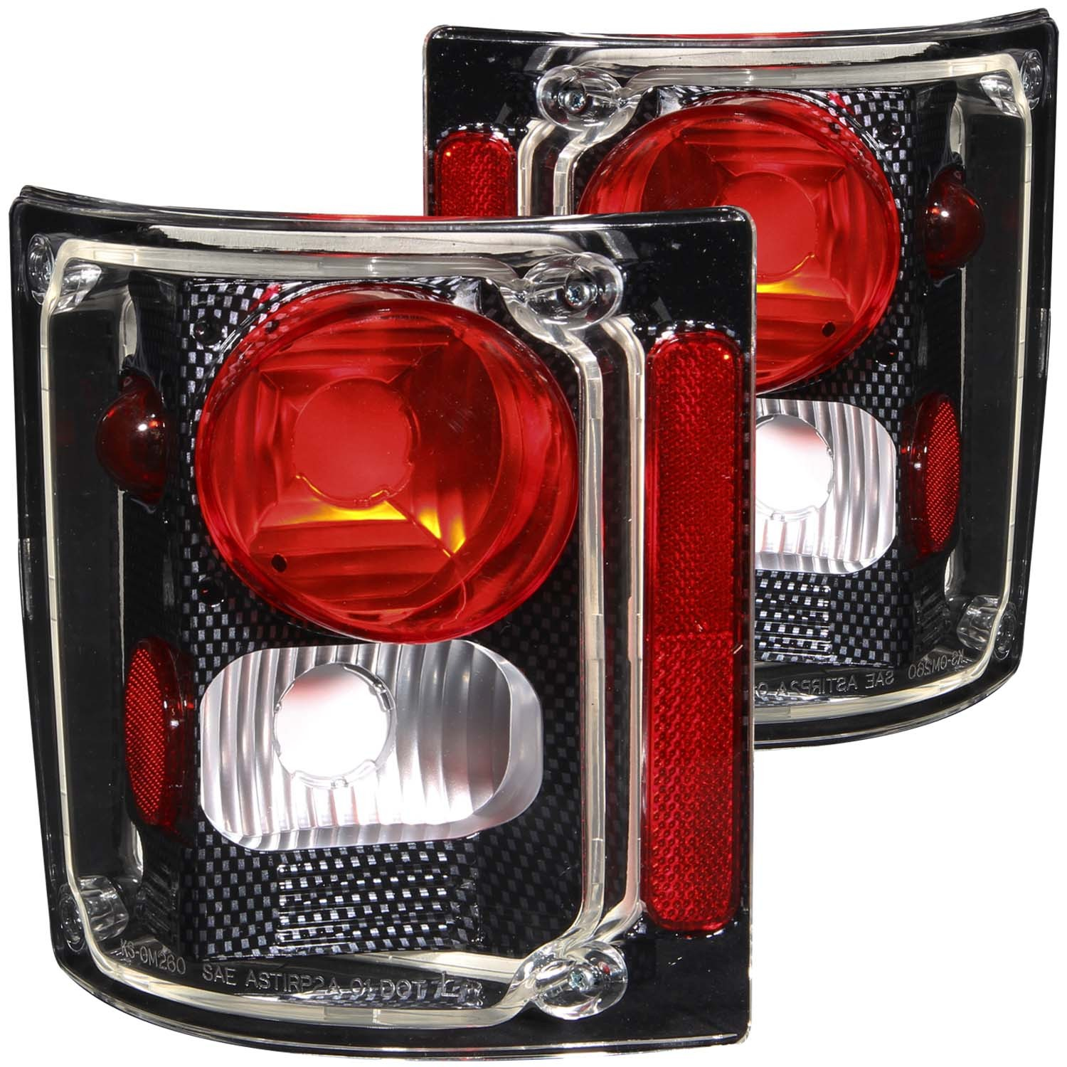73 87 Chevy Led Tail Lights 98 Truck For Silverado Sierra 1500 Red 211015 11
