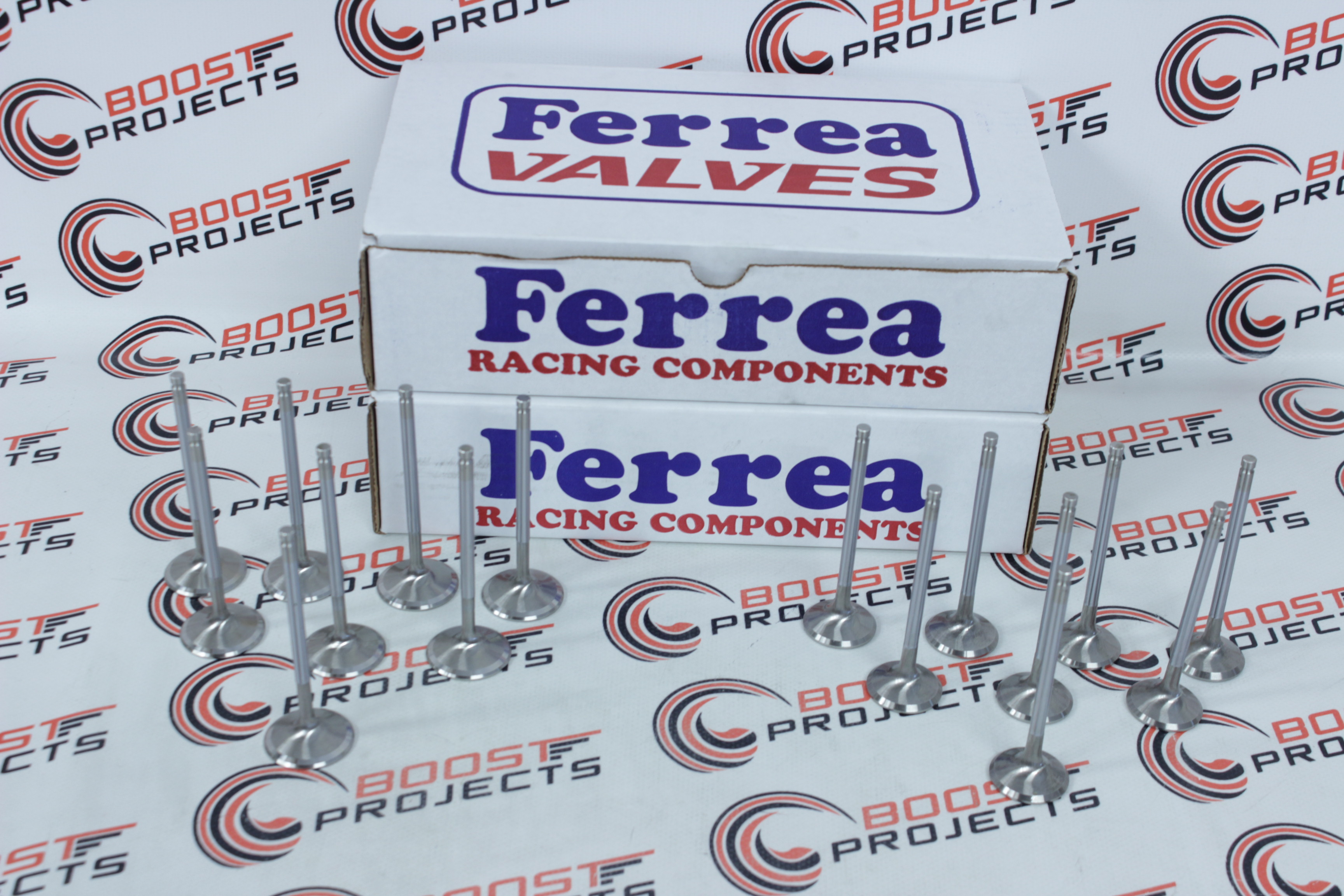 Ferrea Exhaust Valves HDia 1.55 11//32 5.075 For 60-12 FORD 351 W/&GT40 HEAD F5028