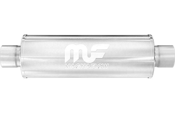 "4/"" C//C 6/"" Round 6/"" Body MagnaFlow Race Muffler SS 14162"