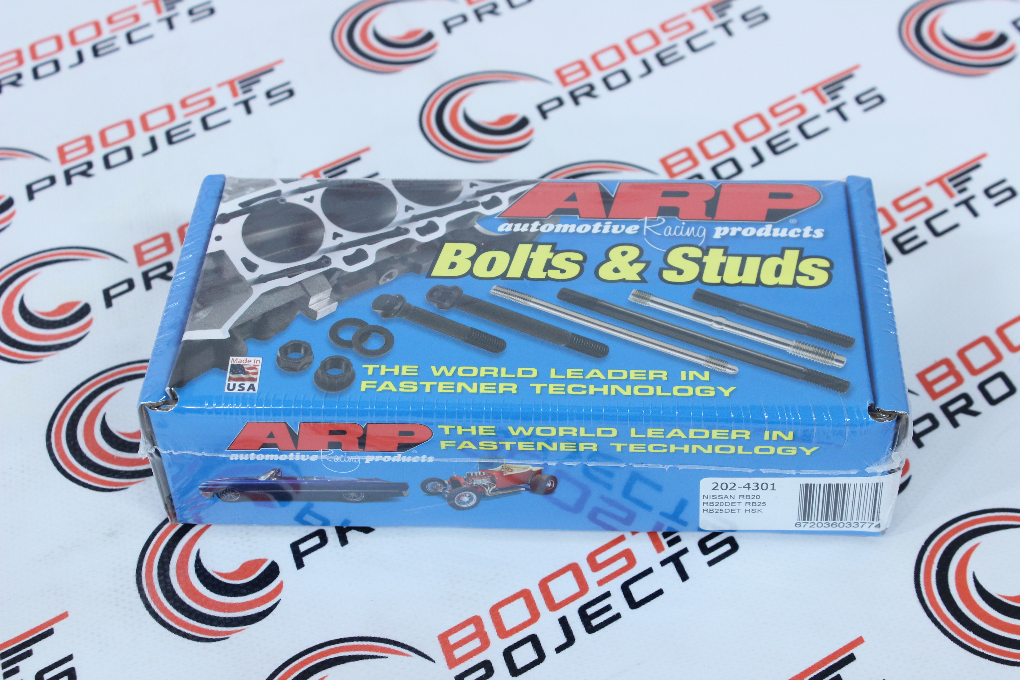 202-5406 * ARP Main Stud Kit Fits Nissan L24 L26 L28 series 6-cylinder