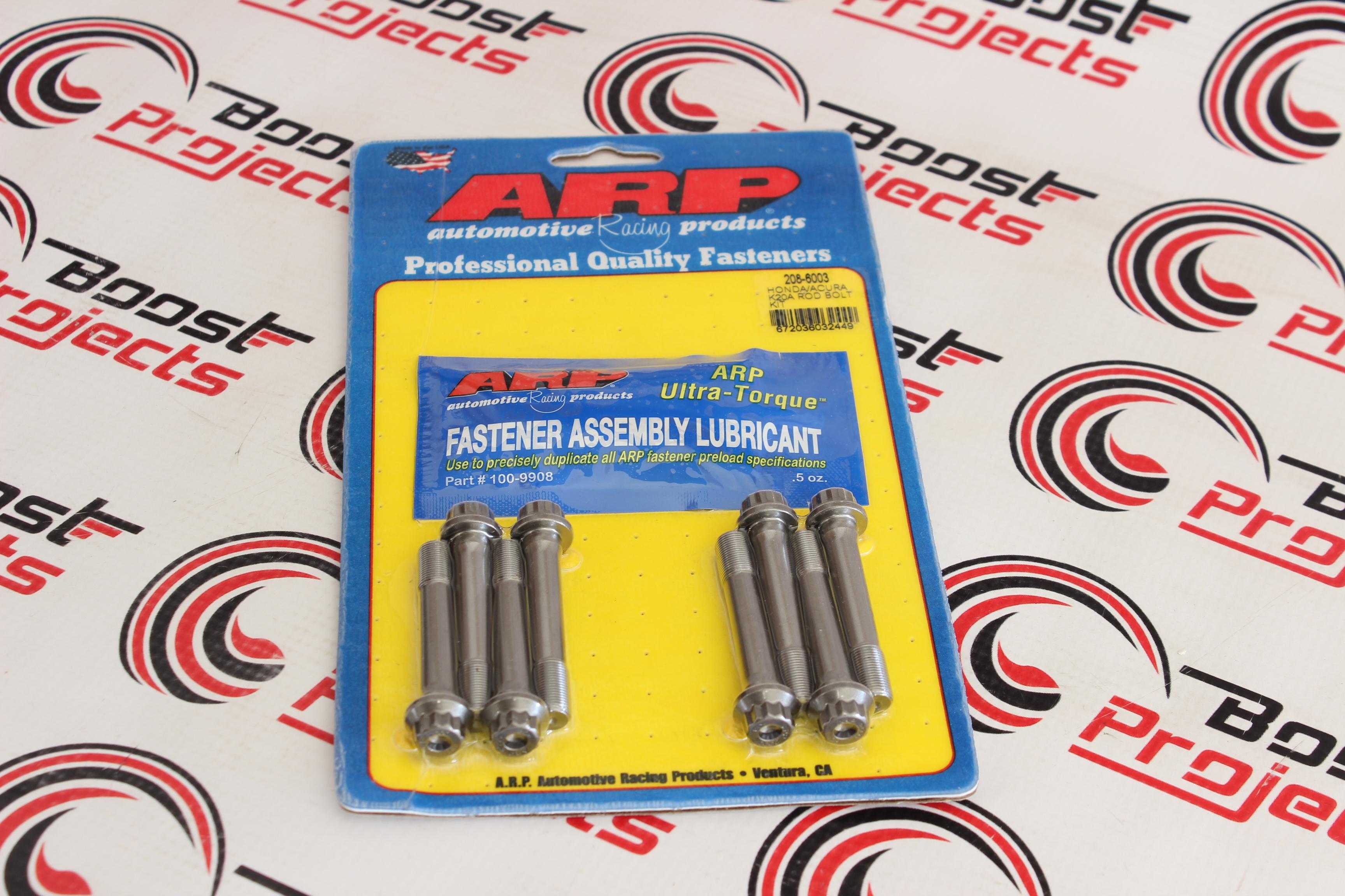 ARP Rod Bolt Kit 208-6003 Acura RSX Type S K20A K20A2 K20Z1 K20Z3 ARP2000 K20
