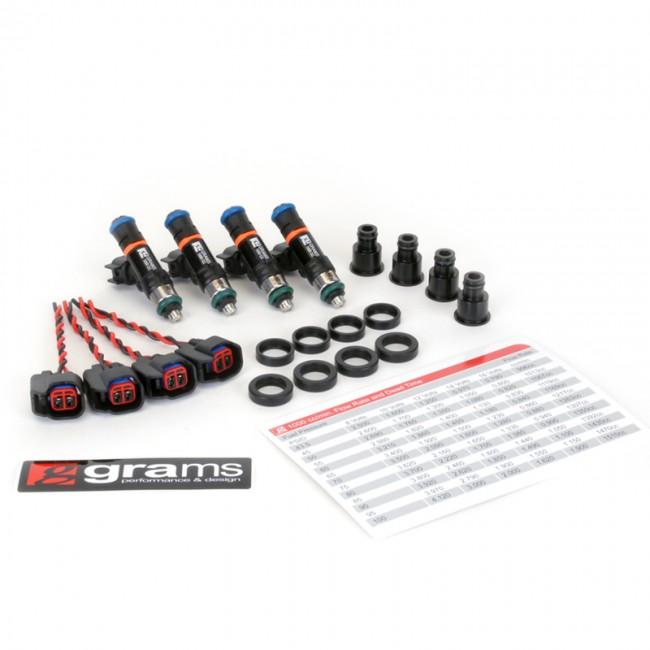 Grams Performance 1000cc Fuel Injectors For Honda/Acura B