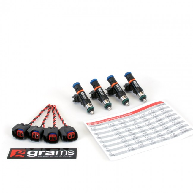 Grams Performance 1000cc Fuel Injectors For Honda/Acura K