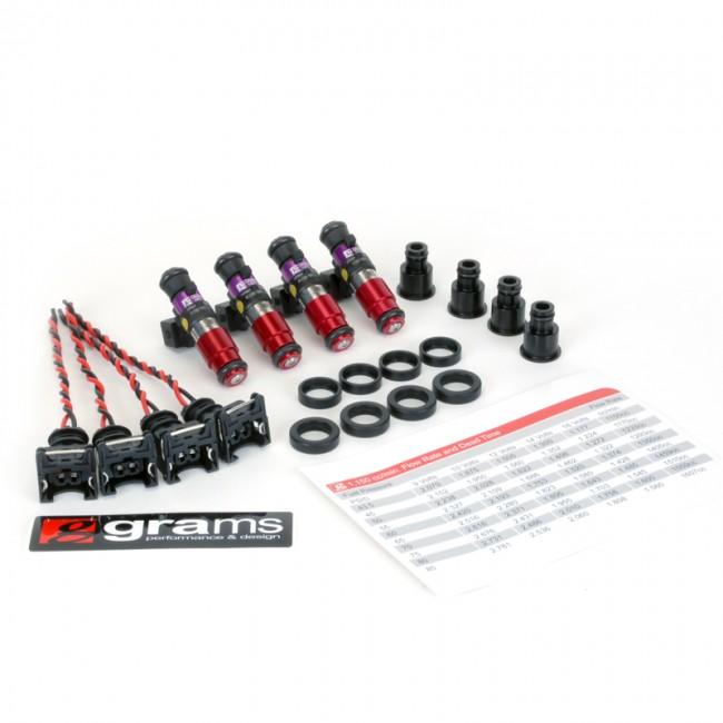 Grams Performance 1150cc Fuel Injectors For Honda/Acura B