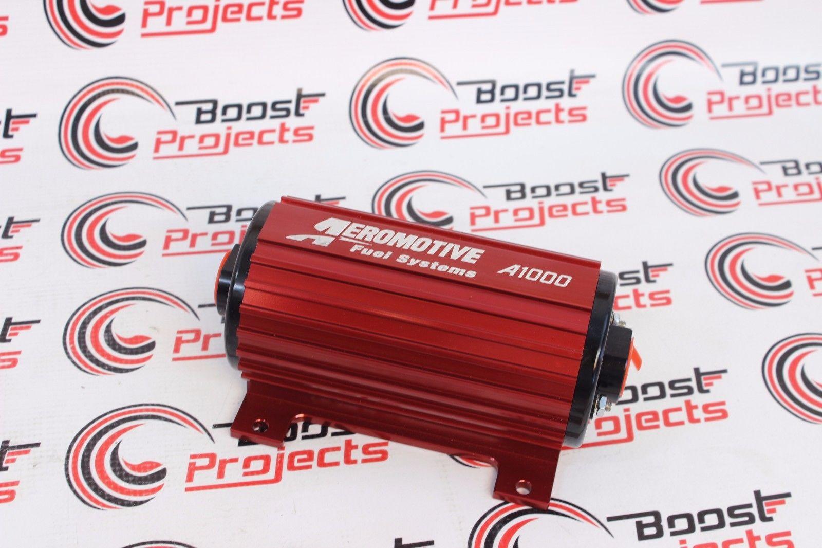 OBX Universal External Electrical Fuel Pump  2100HP EFI Polish 1000Lb Polish