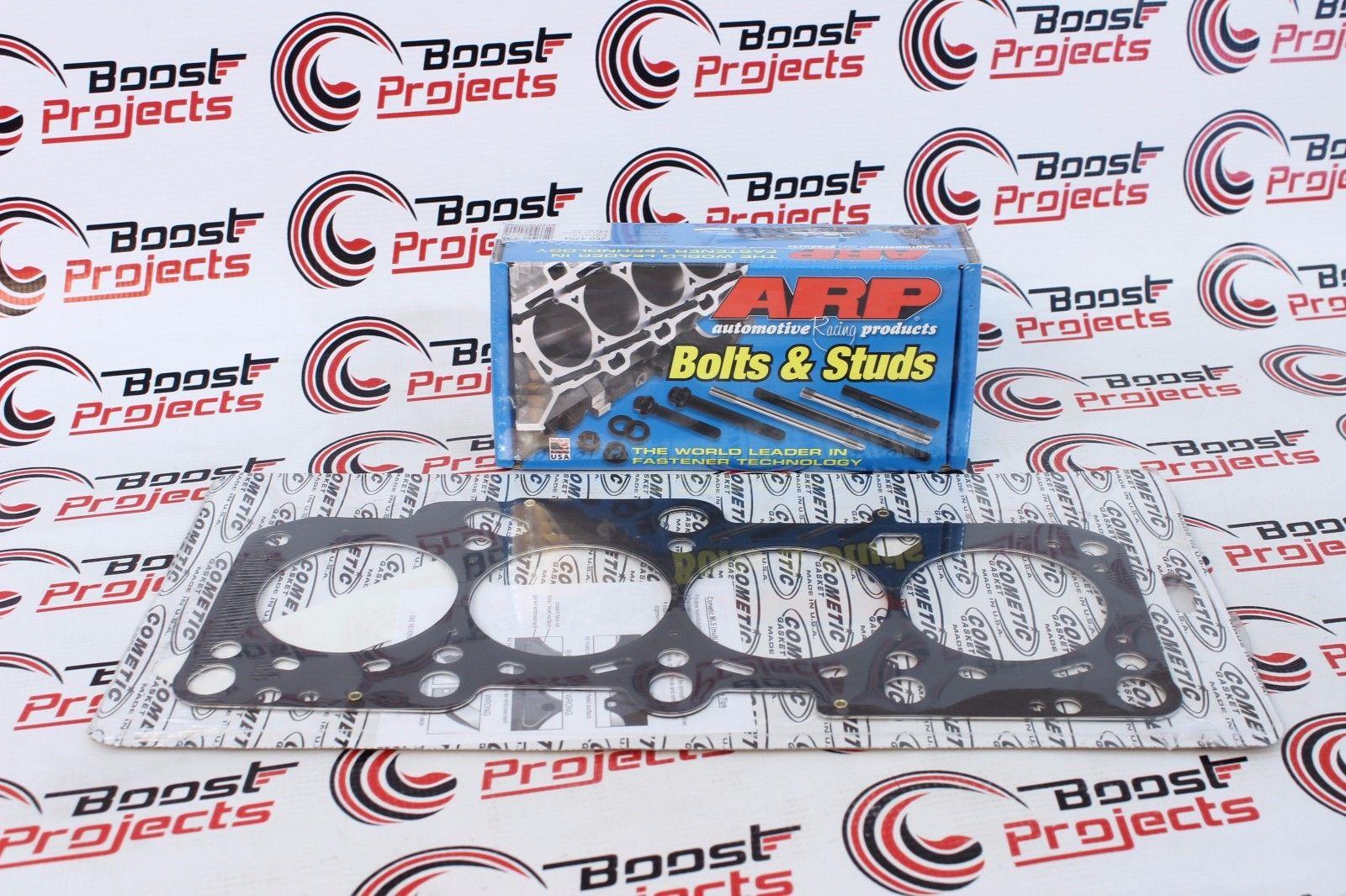 Arp Head Stud Kit /& Cometic Head Gasket 76mm Honda Civic D16y8  D16y7 96-00