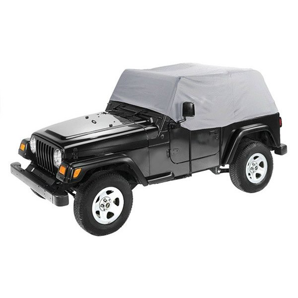 Bestop Pavement Ends Charcoal Canopy Cover for Jeep CJ7 /& Wrangler #41727-09