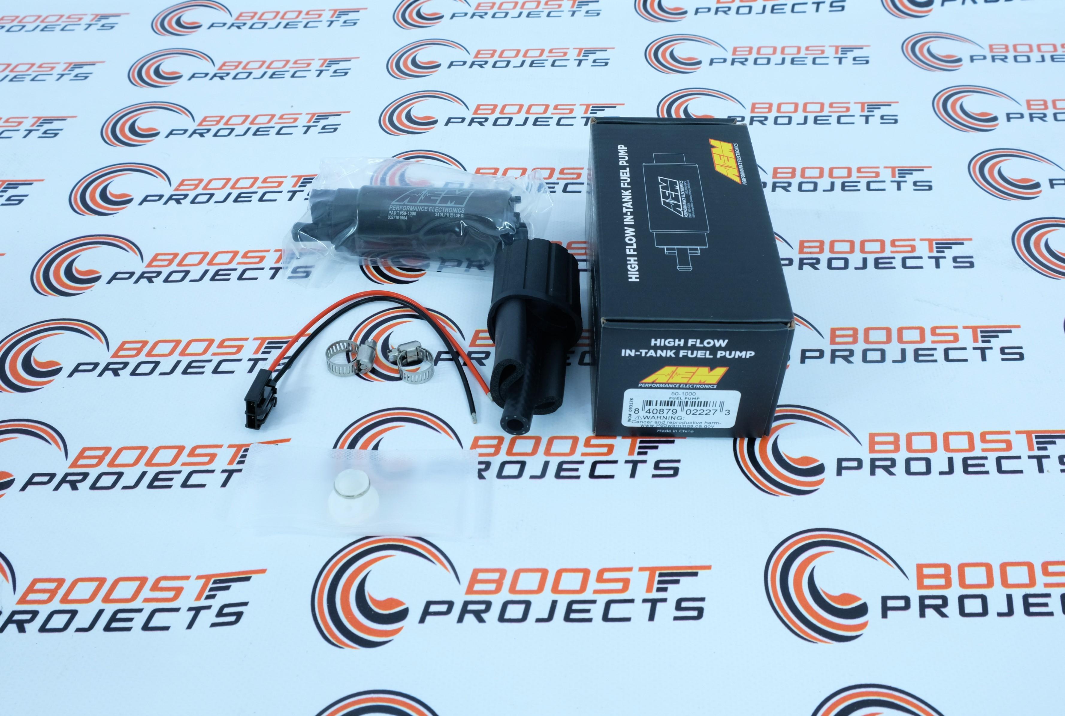 AEM Electronics 50-1000 320LPH High Flow In-Tank Fuel Pump Offset Inlet 1000HP