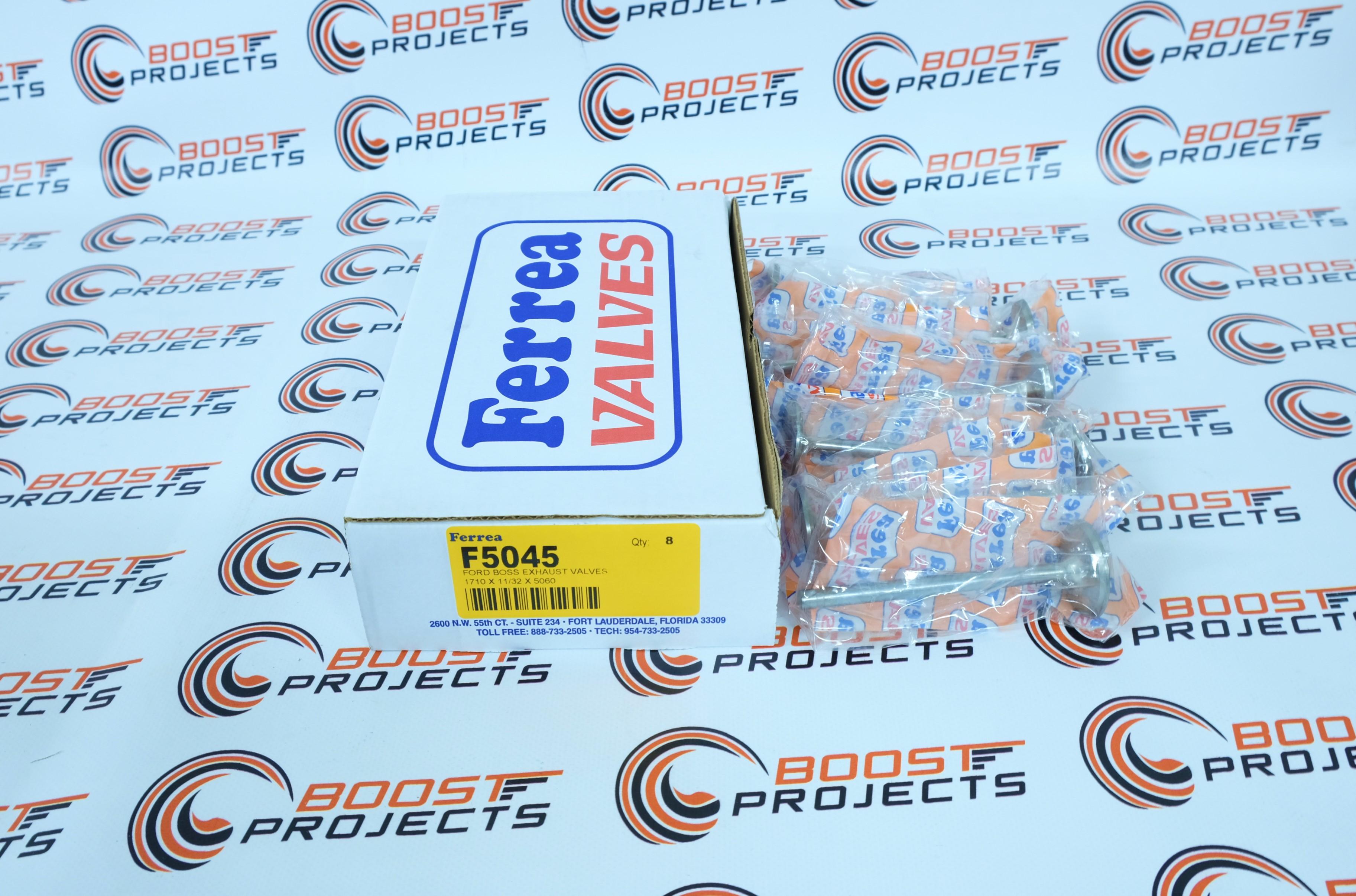 Ferrea Exhaust Valves Head Dia 1.9-1600 For 60-12 FORD 351 W /& GT40 HEAD