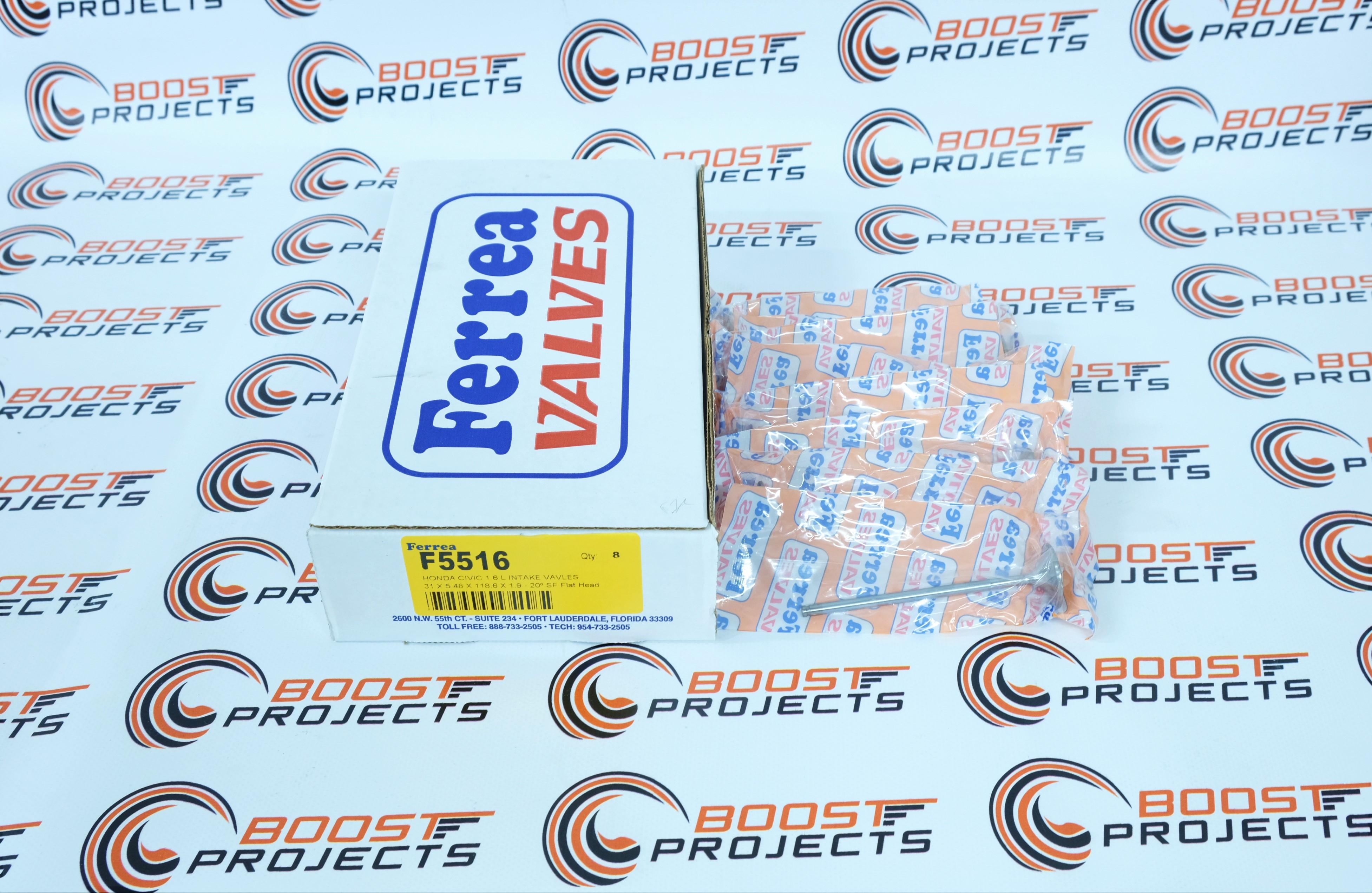 D16Z6-Y5-Y7-Y8 Ferrea Intake Exhaust Valve For 92-00 HONDA CIVIC 1.600L-SOHC