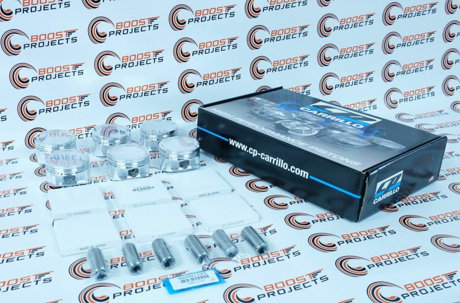 """84.00 mm Bore Piston Ring Set For BMW N54B30 CP-Carrillo 3.307/"""""""