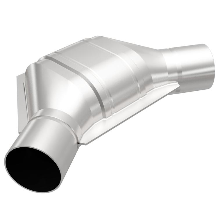 "Magnaflow 94008 Universal High-Flow Catalytic Converter Oval 2/"" In//Out Non-CA"