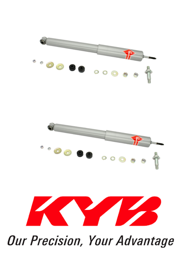 NEW Pair Set of 2 Rear KYB Gas-a-just Shock Absorbers Monotube Performance Upgrade For Ford Expedition Lincoln Navigator