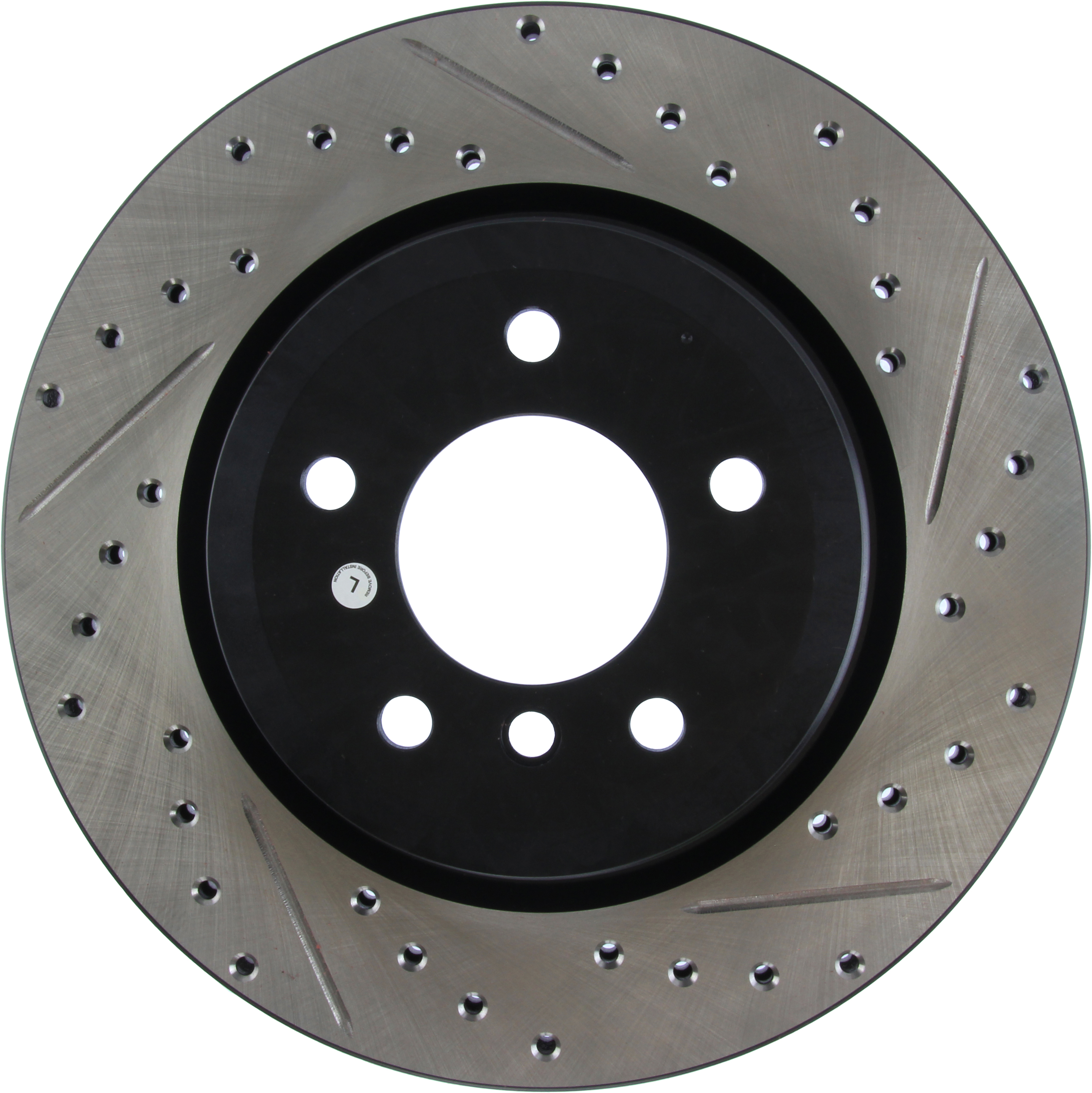 StopTech Rear Left Disc Brake Rotor For 2006