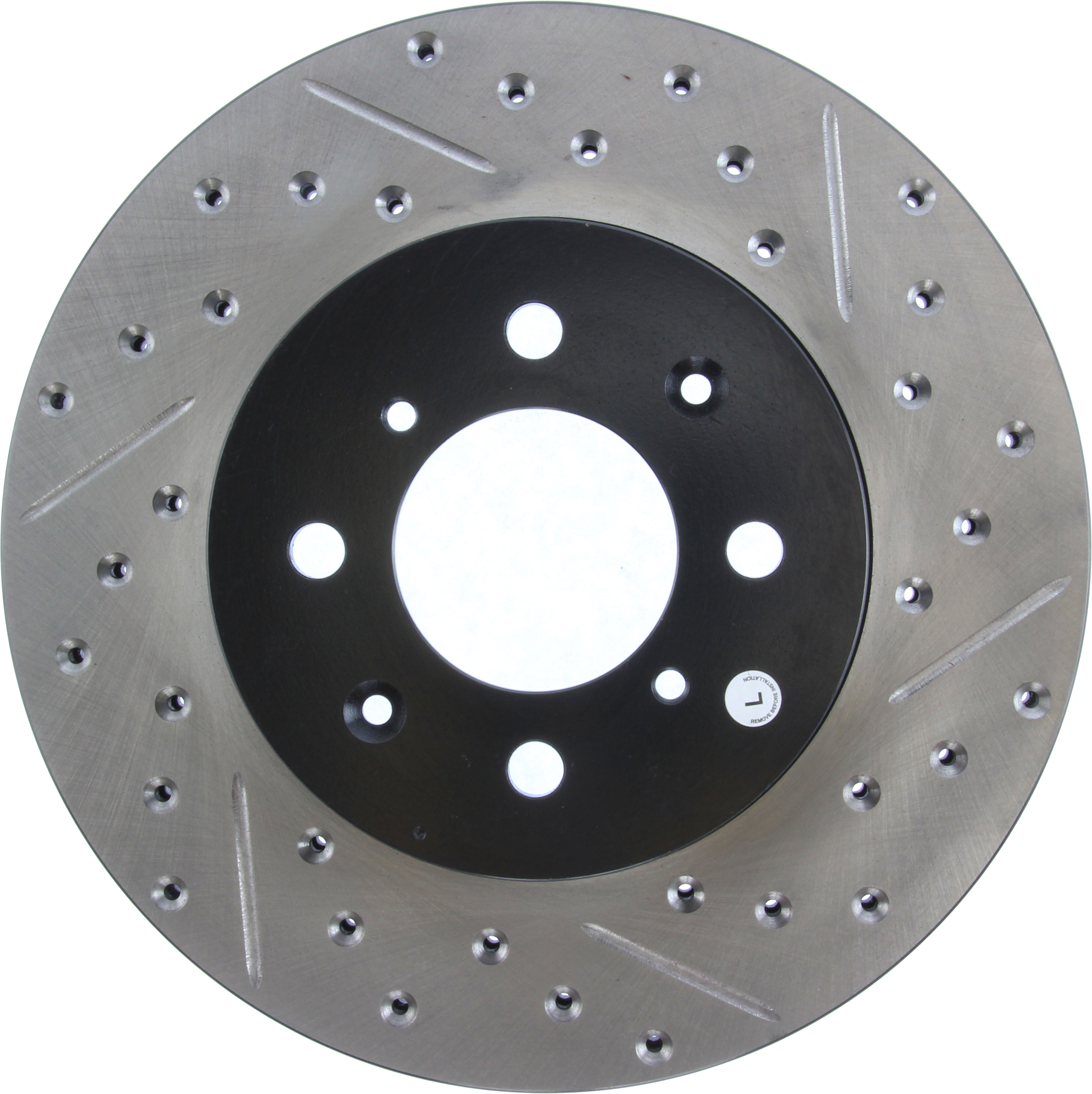 StopTech Front Left Disc Brake Rotor For 90-14 Acura