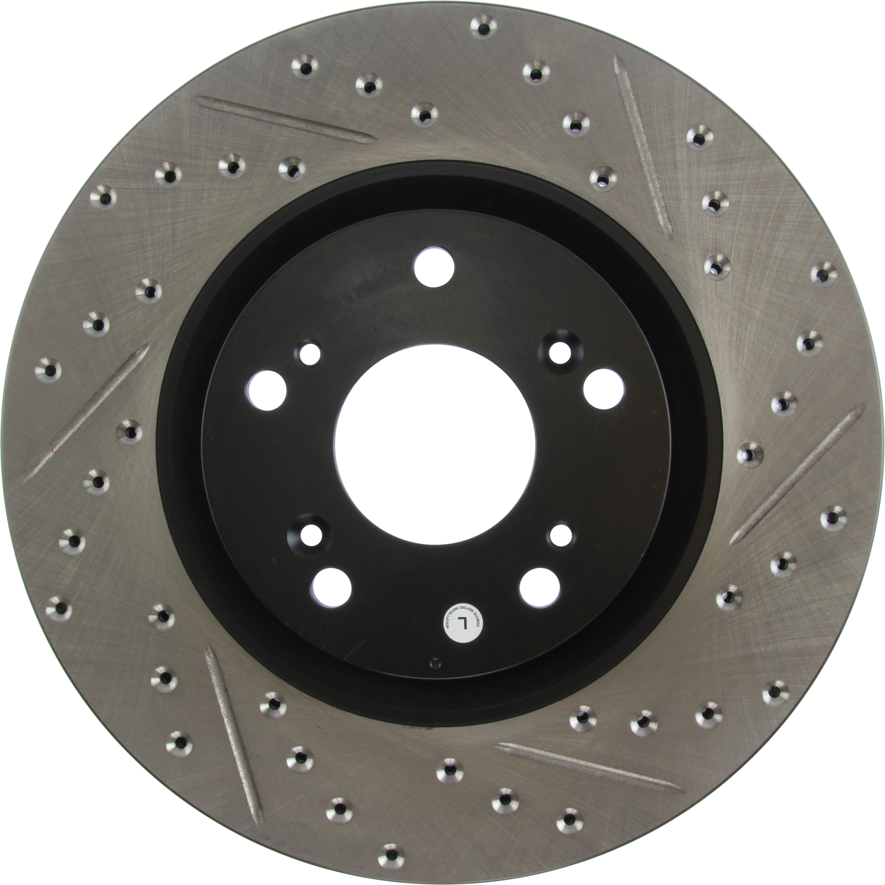 StopTech Front Left Disc Brake Rotor For 02-15 Acura RSX