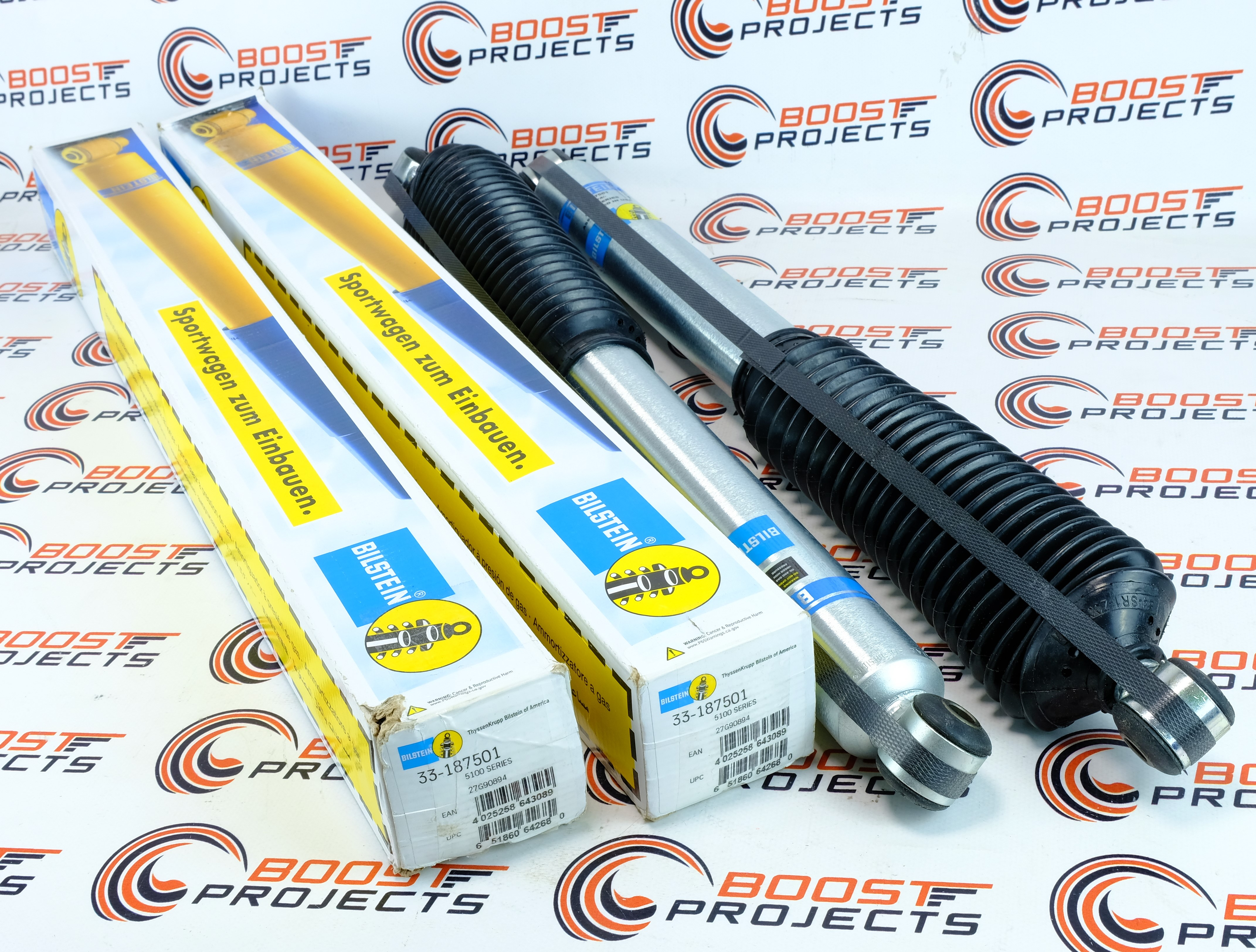 BILSTEIN for 2009-2013 Ford F-150 B8 5100 Series Shock Absorber Rear 33-187501
