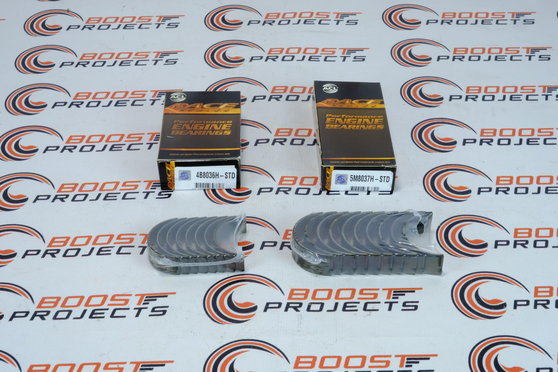 Acl Standard Size Main  U0026 Rod Bearing Set For Mitsubishi 4g91  4g92  4g93  4g93